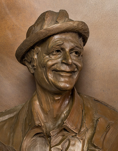Norman Lear Sculpture: Product Photography