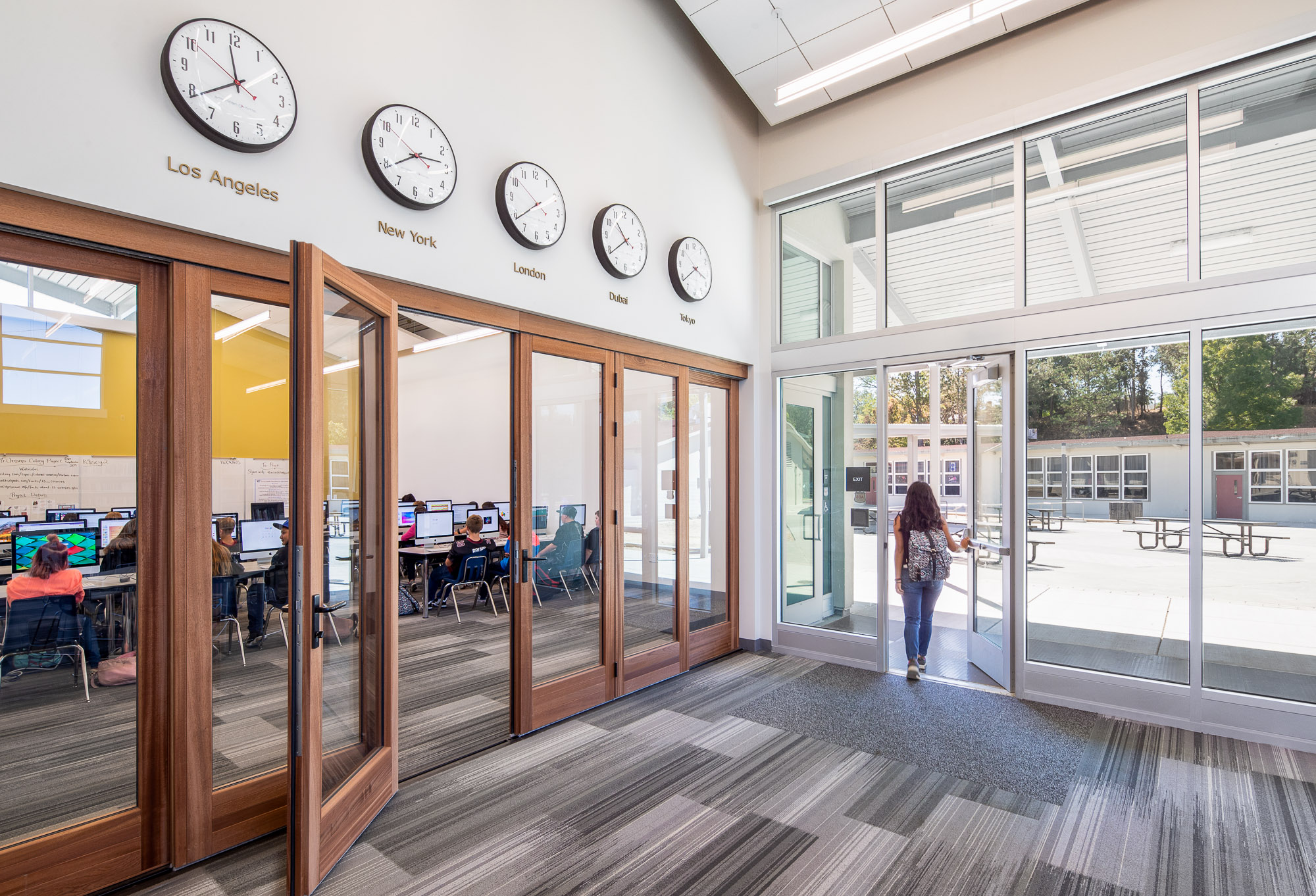 Institutional architectural photography educational architectural photography architectural photography with people
